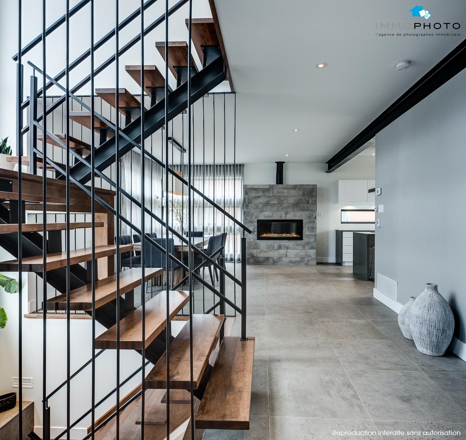 Architecture et design : un intérieur contemporain | Frederic Blanchet