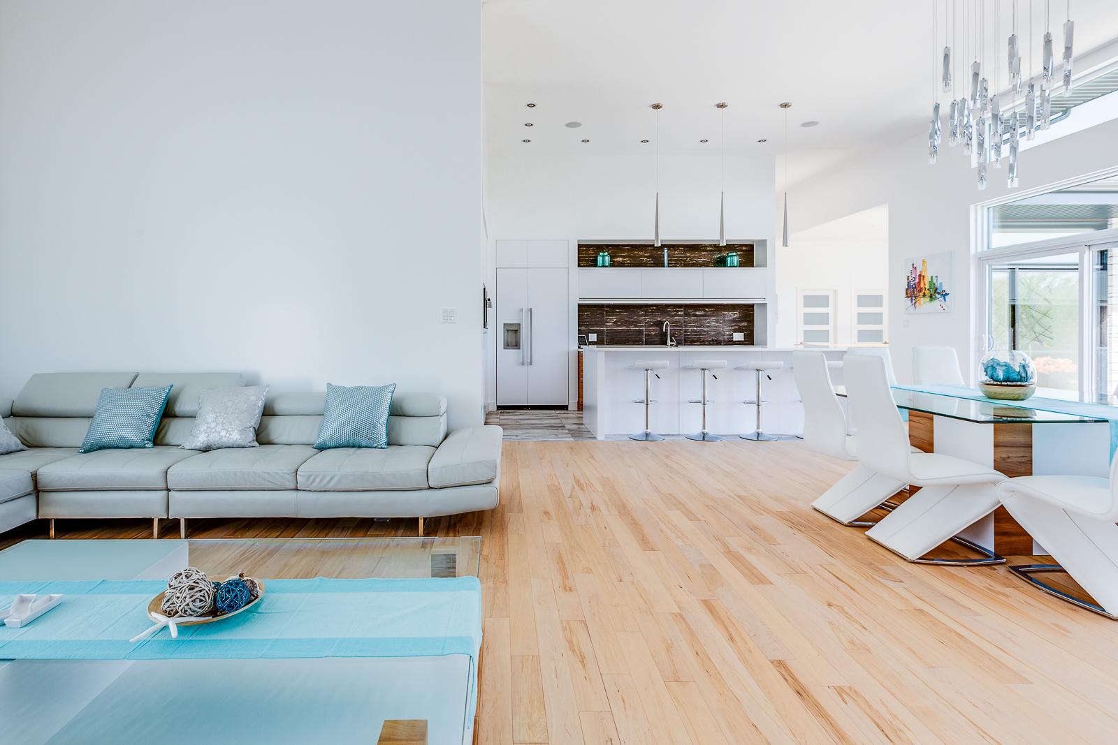Photographe immobilier estrie maison prestige magog